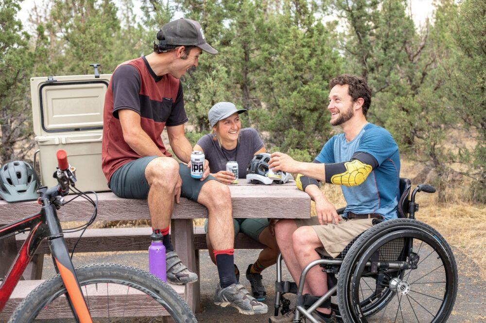 Leben genießen trotz Behinderung